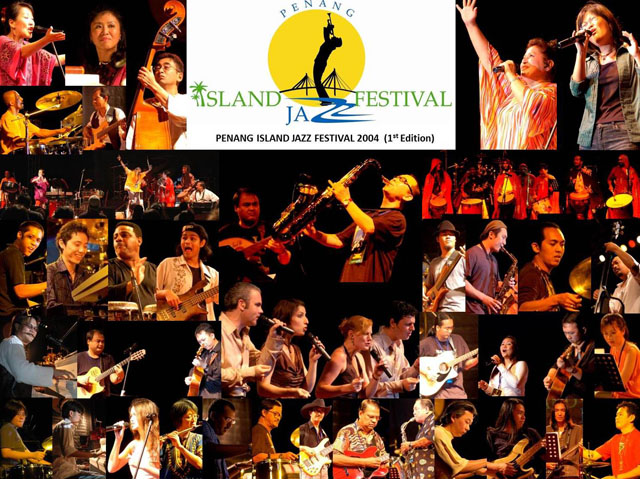 Penang Island Jazz Festival  2004 (Collage)