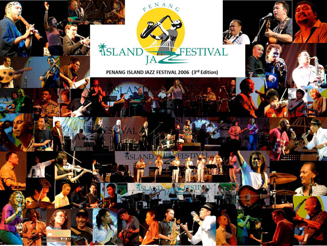Penang Island Jazz Festival 2006 (Collage)
