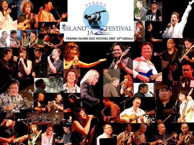 Penang Island Jazz Festival 2007 (Collage)