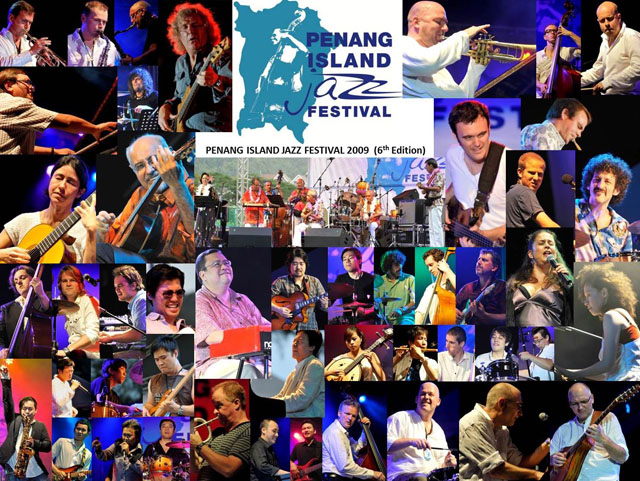 Penang Island Jazz Festival 2009 (Collage)