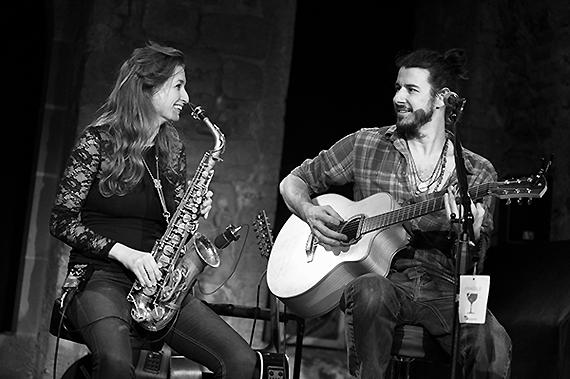 Nicole Johänntgen und Peter Finc im Ono, Bern